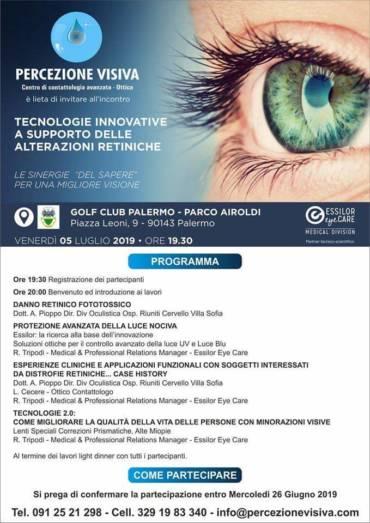 Incontro Tecnologie innovative a supporto delle alterazioni retiniche